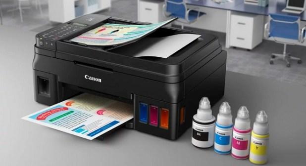 Printer Wireless WiFi Terbaik Canon Pixma G3000