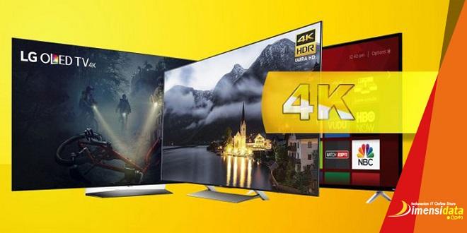 Rekomendasi Smart TV Terbaik Resolusi 4K UHD Harga Termurah