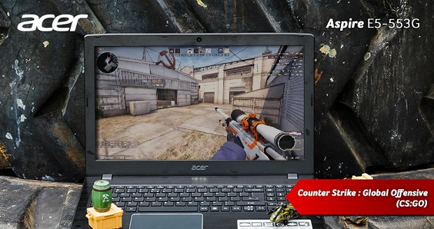 Review Kelebihan Spesifikasi Laptop Gaming Acer Aspire E5-553G