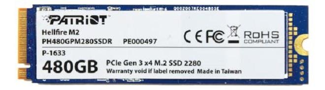 SSD Patriot Hellfire M.2
