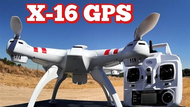 Spesifikasi dan Harga Drone Terbaik BAYANGTOYS X16 GPS