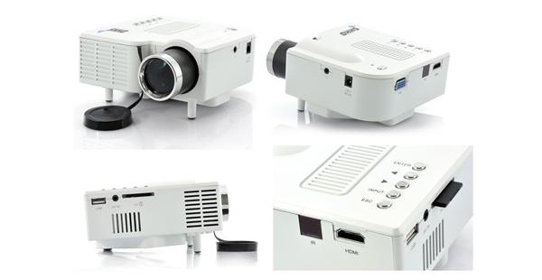 Spesifikasi dan Harga FIST UC28 LED mini projector