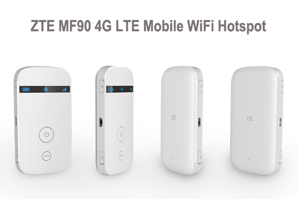 Spesifikasi dan Harga Modem MiFi 4G Lte ZTE MF90 Plus
