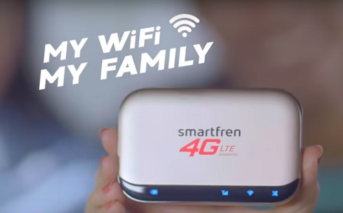 Spesifikasi dan Harga Smartfren Modem MiFi M5 4G LTE