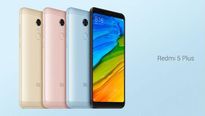 Spesifikasi dan Harga Terbaru 2018 HP Xiaomi Redmi Note 5 Plus