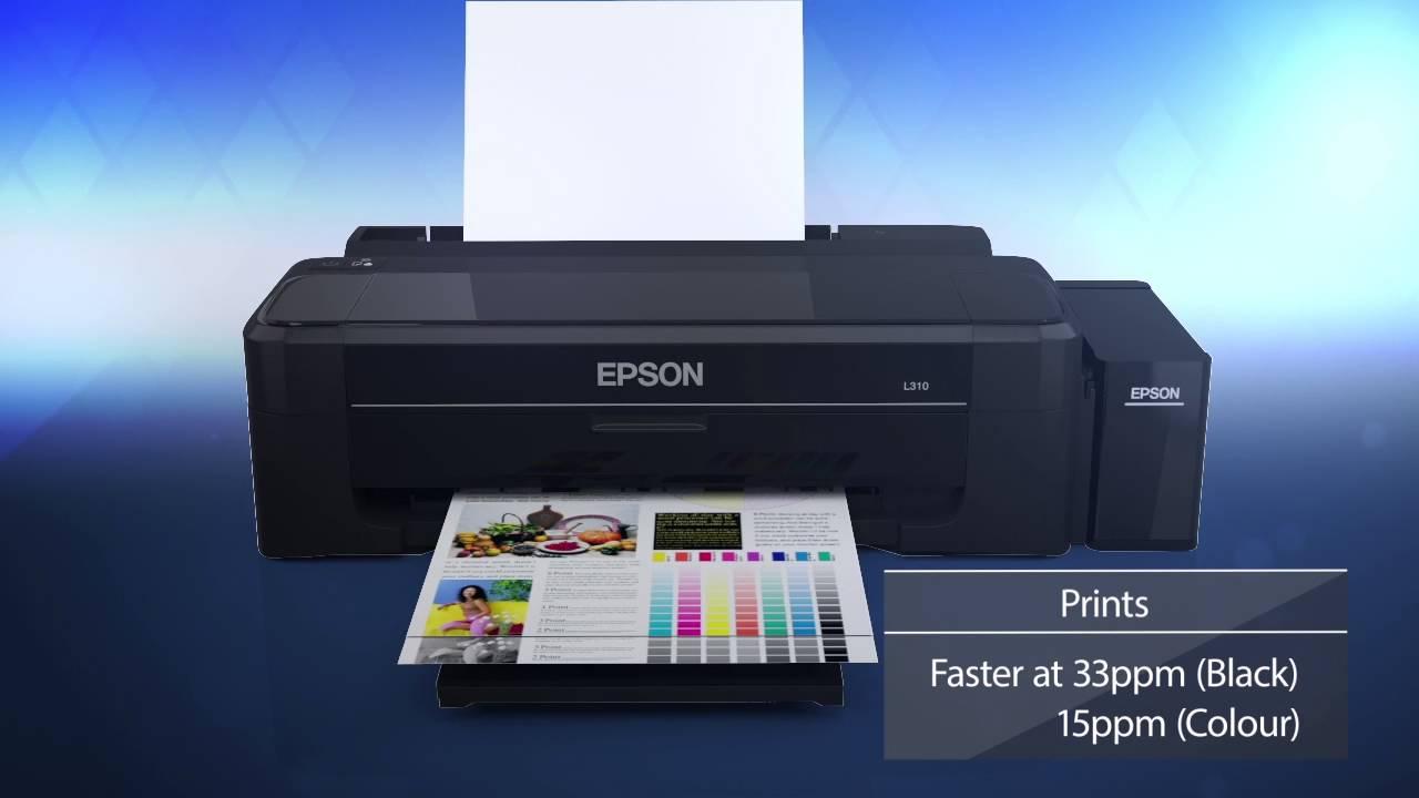 Spesifikasi dan Harga Terbaru Printer EPSON L310