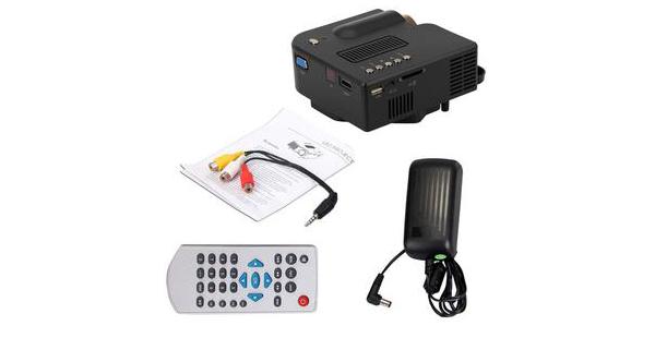 Spesifikasi dan Harga uNIQue LED mini proyektor AZ308