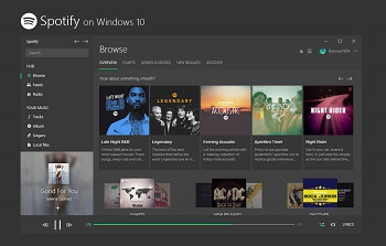 Spotify Windows 10