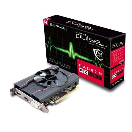 VGA Card Sapphire RX 550 2 GB