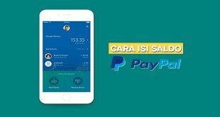 Cara Mudah Isi Saldo PayPal