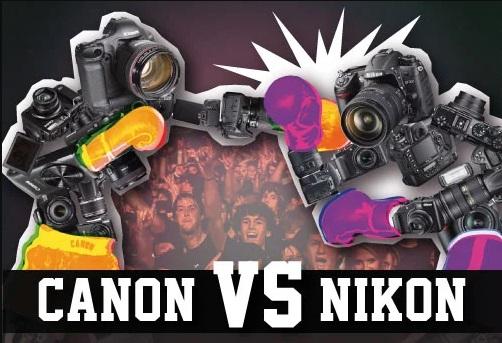 Kamera Canon vs Kamera Nikon, Bagus Mana