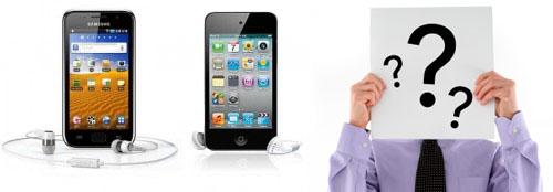 Portable Multimedia Player: Milih Samsung Galaxy Player atau Apple iPod Touch