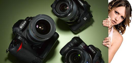 Cara Tepat Milih Kamera DSLR