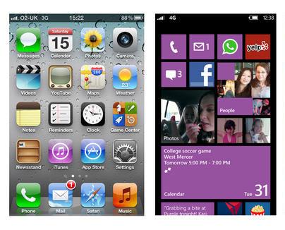 Android Phone Versus Windows Phone 8