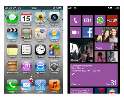 Android Phone Versus Windows Phone 8