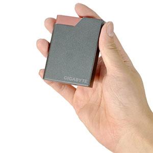 GIGABYTE merambah bisnis portable hard disk dengan produk GIGABYTE A2 Harddisk External