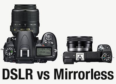 Pilih mana? Kamera Mirrorless vs Kamera Mirror