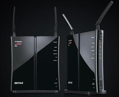 BUFFALO AirStation HighPower N450 Wireless Router Performa Tinggi