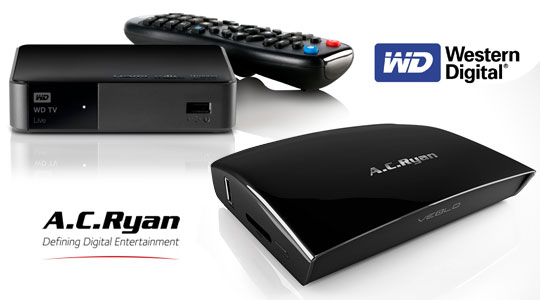 Digital Media Player  AC Ryan vs WD Live Player