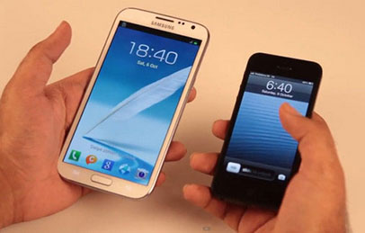 Pilih Mana, Galaxy Note 2 Versus iPhone 5?