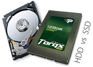 Performa SSD Versus Hard Disk 7200 RPM
