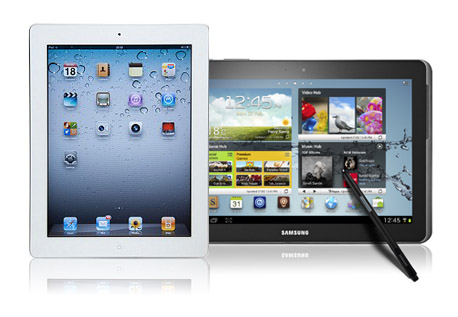 Pilih Mana Samsung Galaxy Note 10.1 atau Apple iPad 3?