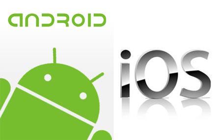 Pilihan Gadget Canggih Android-nya Google Versus iOS-nya Apple