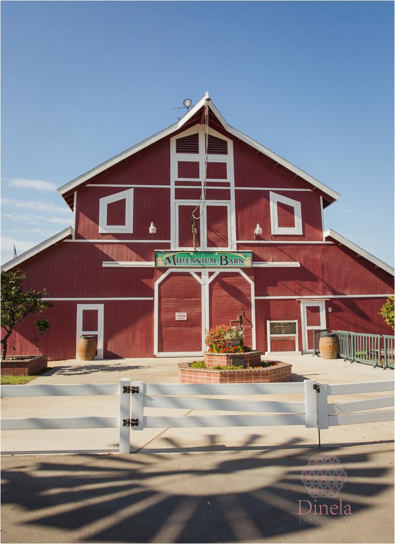 Country Themed Red Barn Wedding at the OC Fair Centennial
