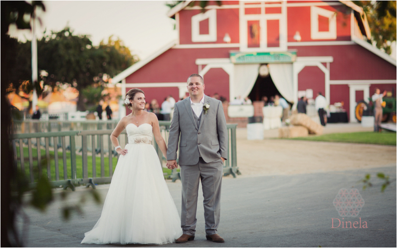 Country Themed Red Barn Wedding at the OC Fair Centennial