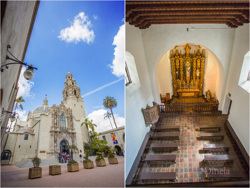 San Diego Wedding Photography St Francis Chapel Wedding  Balboa Park  Oliver  Rose