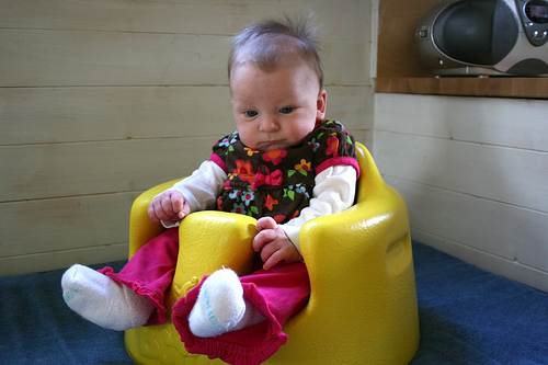 baby high chair for eating folding canvas chairs bumbo: pediatric pt explains why not to use the bumbo seat!