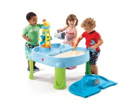 Toys to Encourage Independent Standing; sand table
