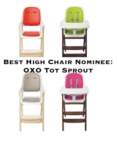 best high chair OXO tot sprout