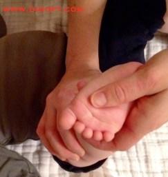 flat feet massage