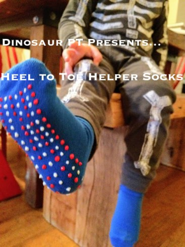 heel to toe helper socks