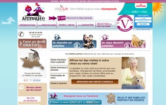 Animaute, gardiennage pour animaux