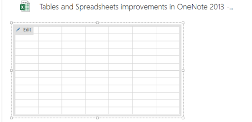 Table and Spreadsheet Improvements in OneNote 2013 - Microsoft ...