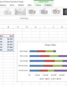 At also using the recommended charts tool in excel microsoft training rh blogionstraining