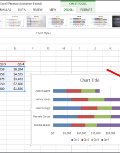 Each of these icons are and what they allow you to do when working with  chart the three from top bottom elements styles also repositioning formatting tools in excel rh blogionstraining
