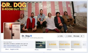 Dr Dog Facebook artist brand