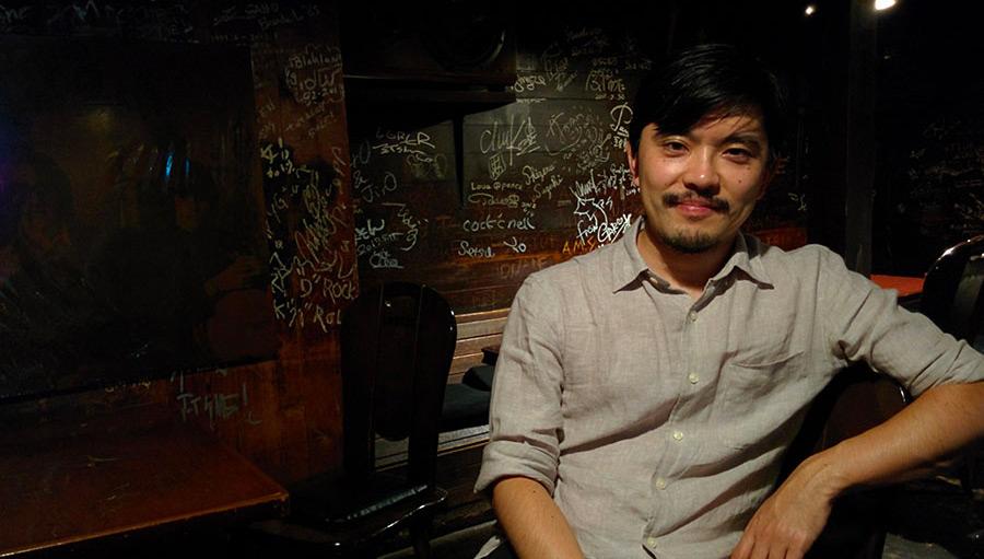 A Light In The Attic's Yosuke Kitazawa in a bar in Shibuya talking about Japanese music