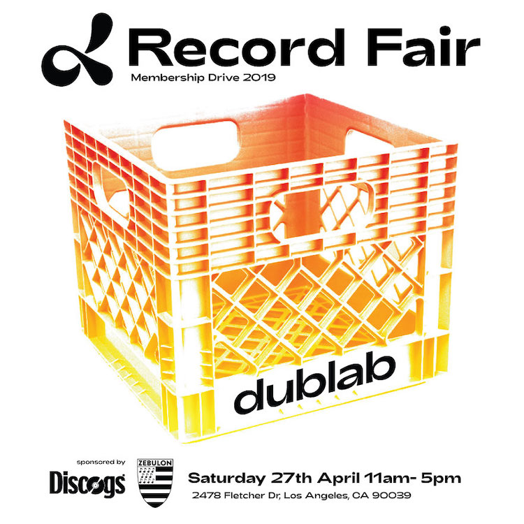 dublab Record Fair 2019