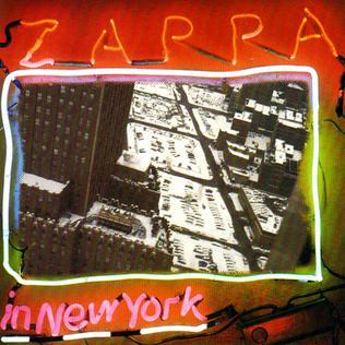 Frank Zappa - Zappa In New York for sale