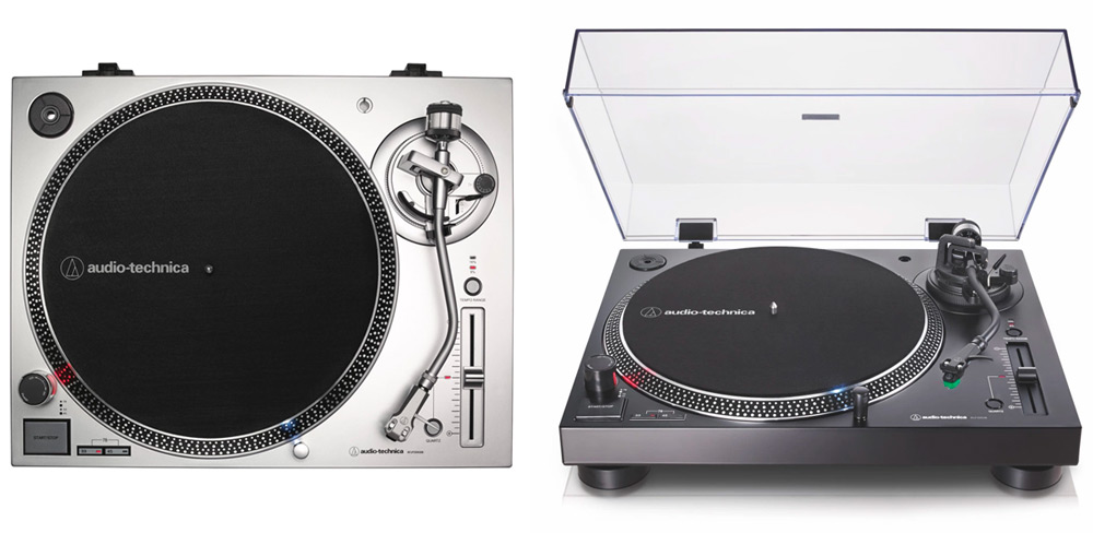 AT-LP120xUSB in silver and black