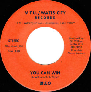 Bileo – You Can Win / Let's Go