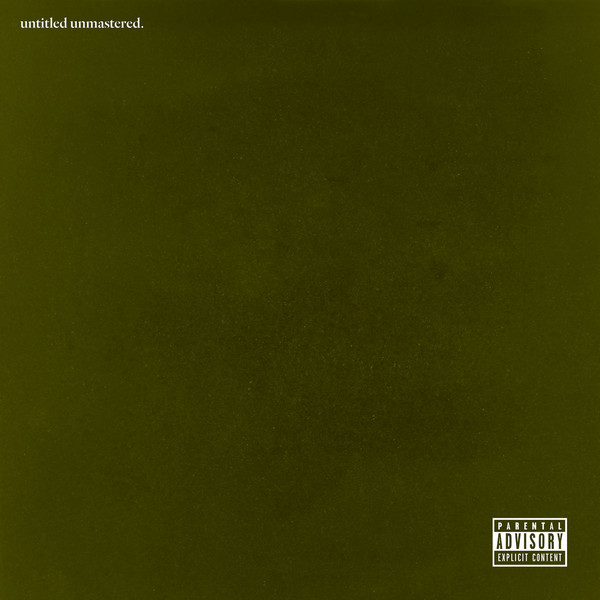 kendrick-lamar-untitled-unmastered album cover
