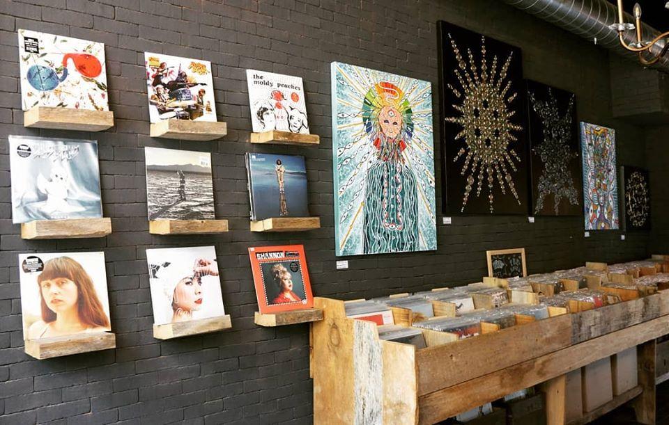 Antikka Record Store in Toronto
