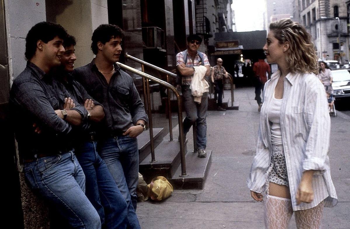 Madonna in Desperately Seeking Susan