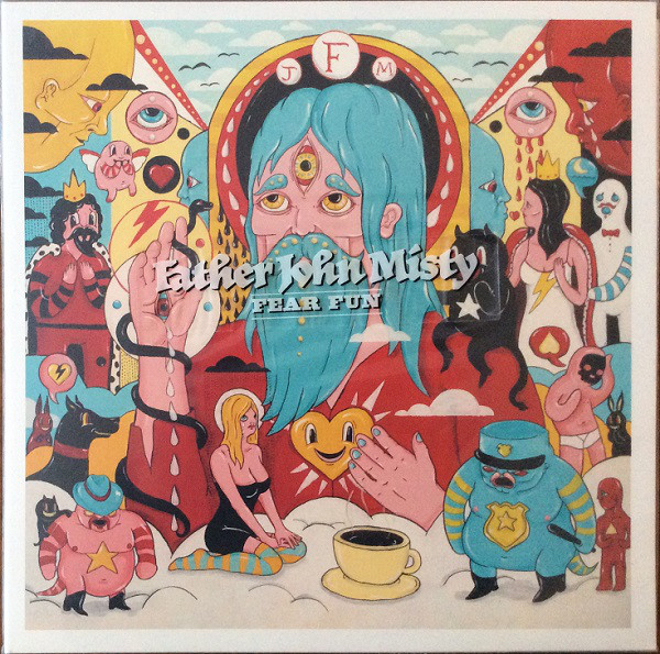 father john misty fear fun album cover