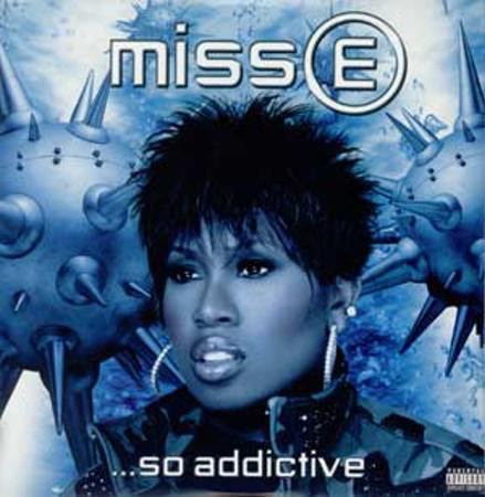 miss e so addictive missy elliott album cover